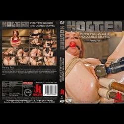 Hogtied 81 - Penny Pax Gagged and Double Stuffed - KINK-HT-081