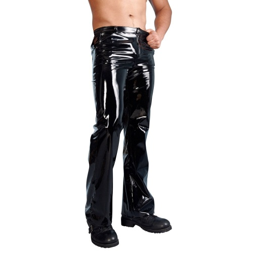 Men's Vinyl Trousers sizes S > XL - or-2890348