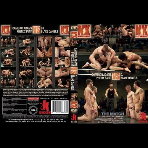 Naked Kombat 4 - Cameron Adams & Phenix Saint vs DJ & Blake Daniels - KINK-NK-004