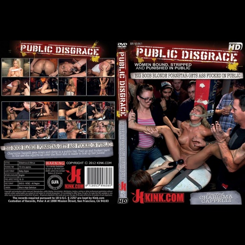 Public Disgrace 12 - Big Boob Blonde Pornstar Gets Ass Fucked in Public - KINK-PD-012