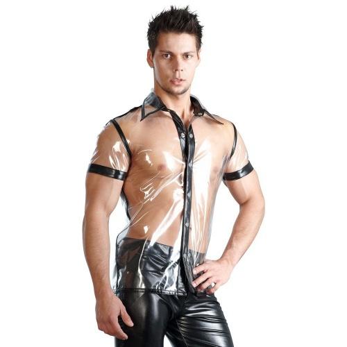 Transparant shirt maten S > L  - Or-2480239