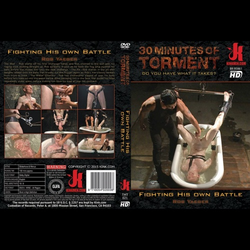 30 Minutes of Torment 21 - Fighting His own Battle - KINK-TMT-021