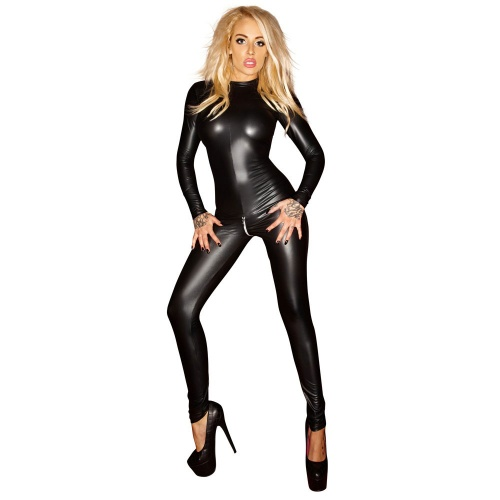 Wetlook Catsuit van Noir Handmade - or-2730260
