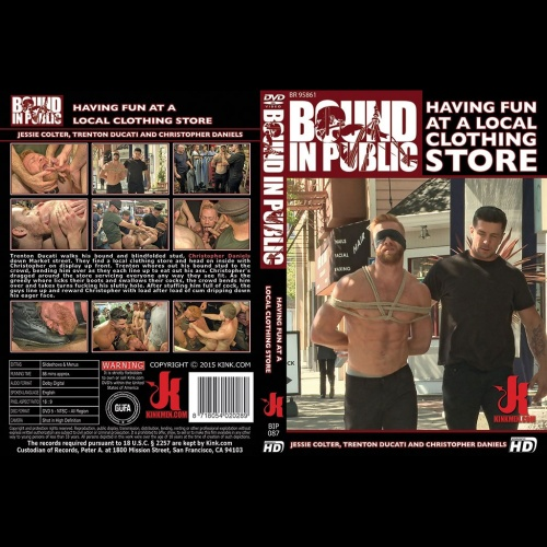Bound in Public 87 - Having Fun at a Local Clothing Store - KINK-BIP-087