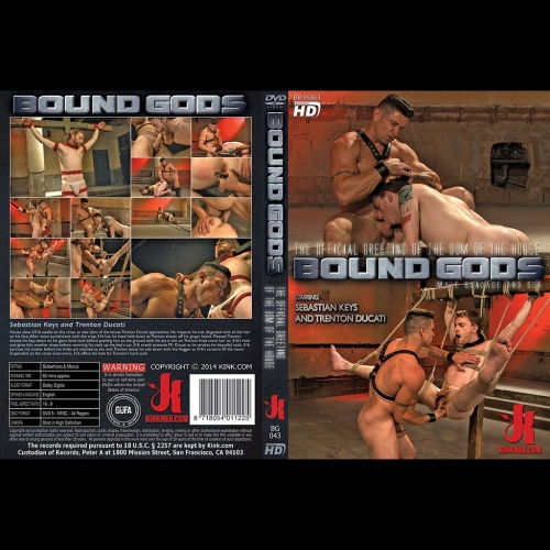 Bound Gods 43 - The Official Greeting of The Dom of The House - KINK-BG-043