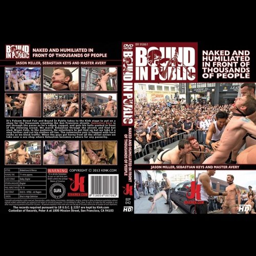 Bound in Public 42 - Naked and Humiliated in Front of Thousands of People - KINK-BIP-042