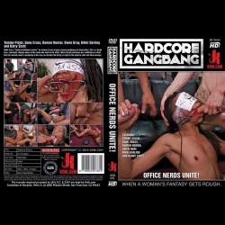Hardcore Gangbang 91 - Office Nerds Unite! - KINK-HGB-091