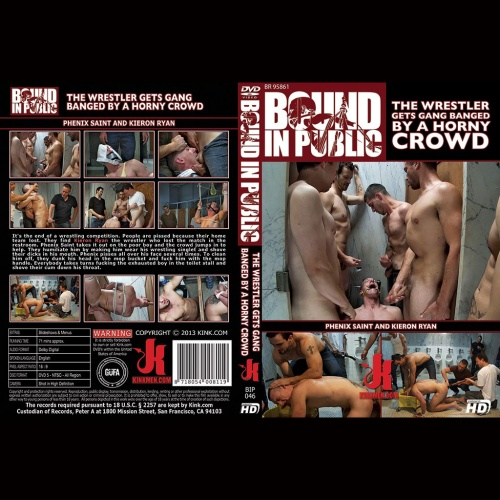 Bound in Public 46 - The Wrestler Gets Gang Banged by a Horny Crowd - KINK-BIP-046