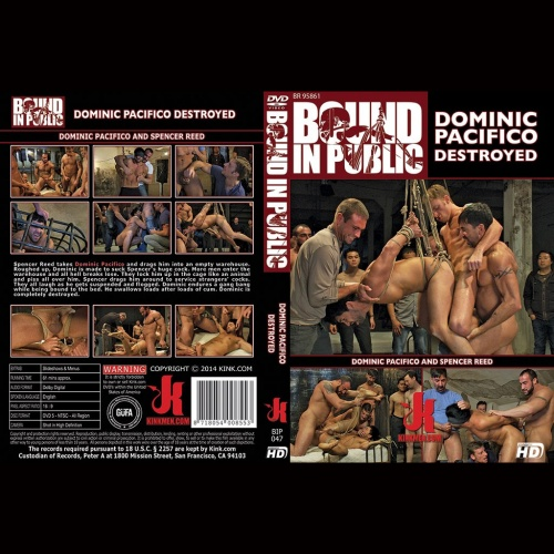 Bound in Public 47 - Dominic Pacifico Destroyed - KINK-BIP-047