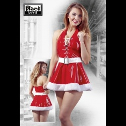 Xmas Vinyl Dress size Small - or-2850621