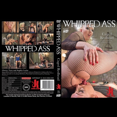 Whipped Ass 110 - Caged Redhead - KINK-WA-110