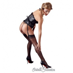 Vintage Nylon Seam Stockings - Small - or-25402231611