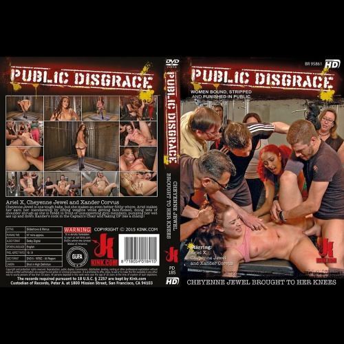 Public Disgrace 185 - Cheyenne Jewel Brought to Her Knees - KINK-PD-185
