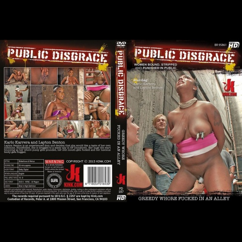 Public Disgrace 187 - Greedy Whore Fucked in an Alley - KINK-PD-187