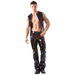 Vinyl Classic Boot Cut Jeans by Honour Clothing H1404 - hr-h1404