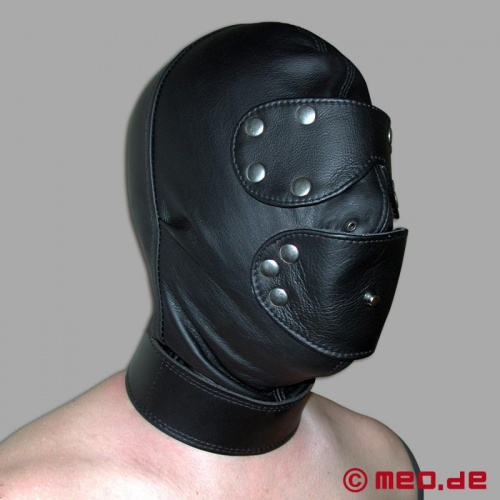 Heavy Duty Bondage Hood with Gag - mb-4474/s2