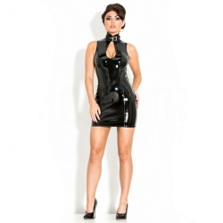 PVC Delilah Dress UK 14 - EU 42 (L) - hr-h2034