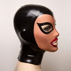Feitico Latex Mask 'Aphrodite' - ft-01-01