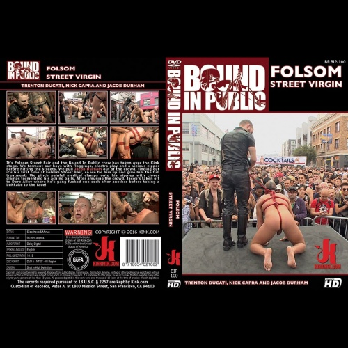 Bound in Public 100 - Folsom Street Virgin - KINK-BIP-100