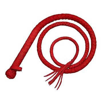 Classic bull whip (red) by Fetish Company - ru-k021red