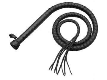 Classic bull whip (black) by Fetish Company -  ru-k021