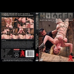 Hogtied 93 - Busty Blonde in Ruthless Backbends - KINK-HT-093