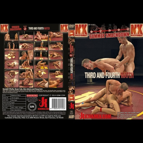 Naked Kombat 33 - Summer Smackdown - Third and Fourth Match - KINK-NK-033