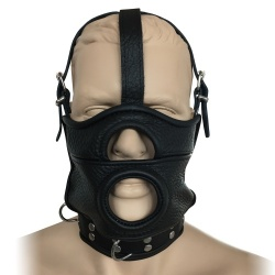 Saxos Mask With Opening And Integrated Collar - os-0519