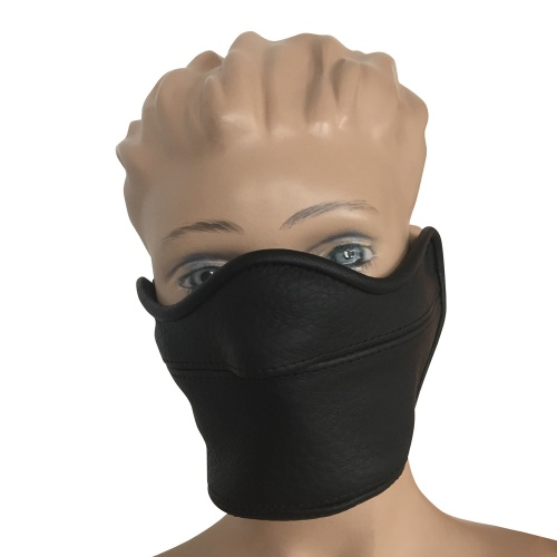 Saxos Leather Mask - os-0473