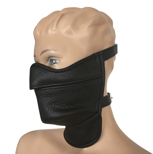 Saxos Leather Mask - os-0472