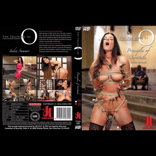 The Training of 'O' 88 - Principles of Servitude - Day One and Two - KINK-TTOO-088
