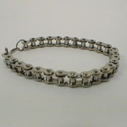 Bracelet of stainless steel, big chain by Masters in Steel - MiS-PB2