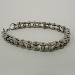 Bracelet of stainless steel, big chain by Masters in Steel - mis-pb2