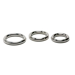 Round cockring 10 mm diameter Masters in Steel - mis-crr10