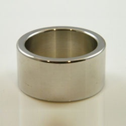 Angular Cockring extra wide model 25 mm LIGHT by Masters in Steel - mis-cr25l
