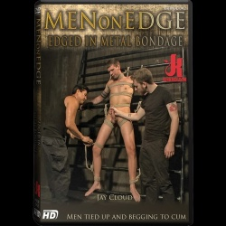 Men on Edge 42 - Edged in Metal Bondage - KINK-MOE-042