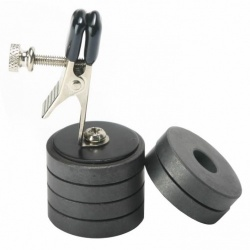 Nipple Clip With Magnet Weights - bhs-329