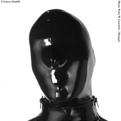 Latexa Mask with Zipper - la-1109-z