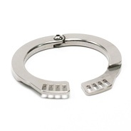 Masters in Steel Adjustable Cockring for Chastity Devices - mis-cb-crv