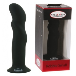 MALESATION Robbie Dildo Small Black - str-600000009906