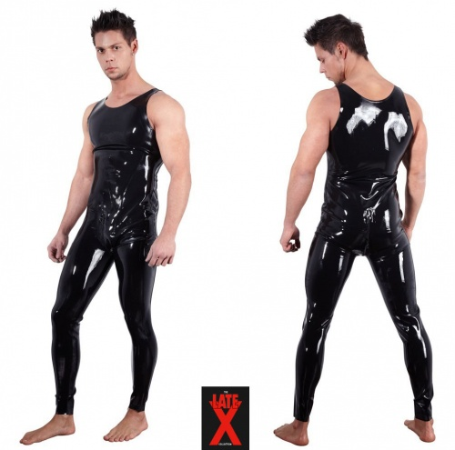 Latex-Overall Große S > XXL - Or-2910306