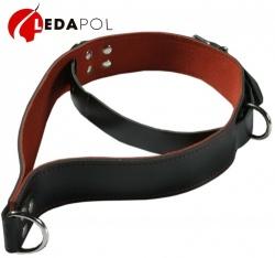 Lederen bondage halsband 5625 - le-5625