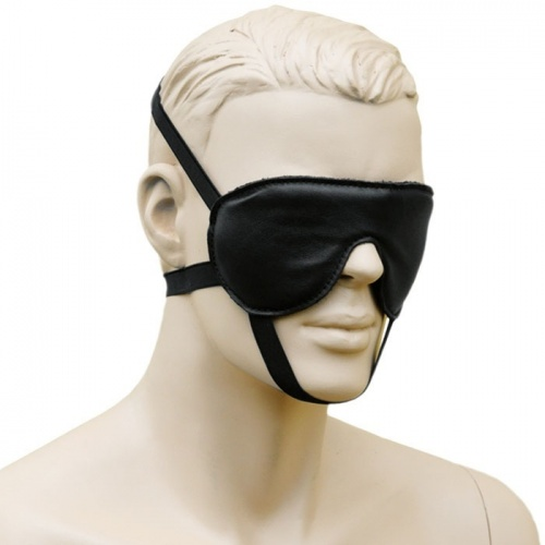Blindfold With 3 Elastic Bands - os-0127-s
