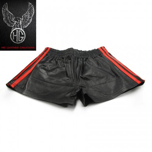 HG Leather Creations Sport Shorts - hg-sprtshrt01