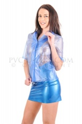 PVC Short sleeve blouse size X-Large - PUL-TO08-XL