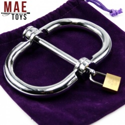 Stainless Steel Wristcuffs Female Size - mae-SM-048f