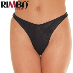 Rimba - Leather Briefs with click Fastening - Ri-7105