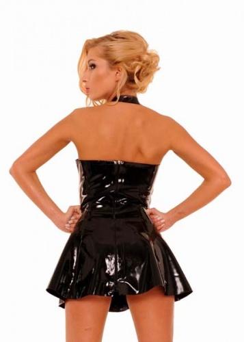 Breast Free Latex Mini Dress by Anita Berg AB4390 - ab4390