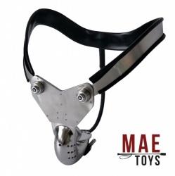 The Enforcer II Steel Chastity Belt - MAE-SM-085