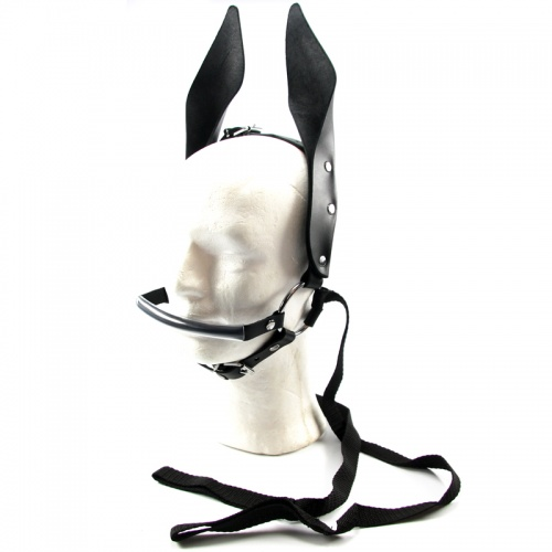 Leather Pony Play Harness - fp-011